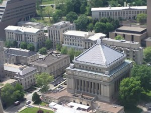 Pitt Campus Aerial View